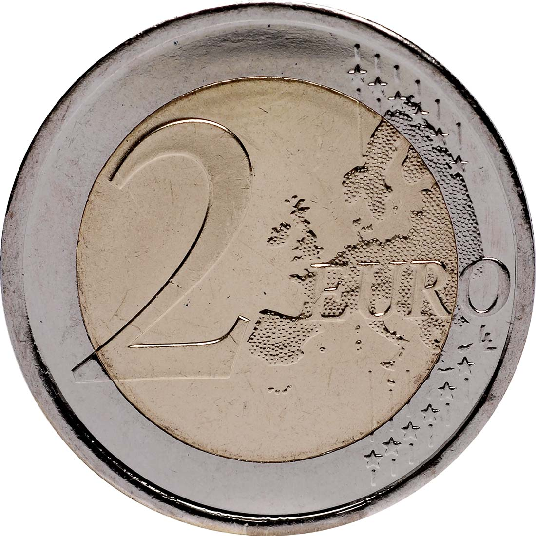 Vorderseite:Spanien : 2 Euro Burgos  2012 bfr
