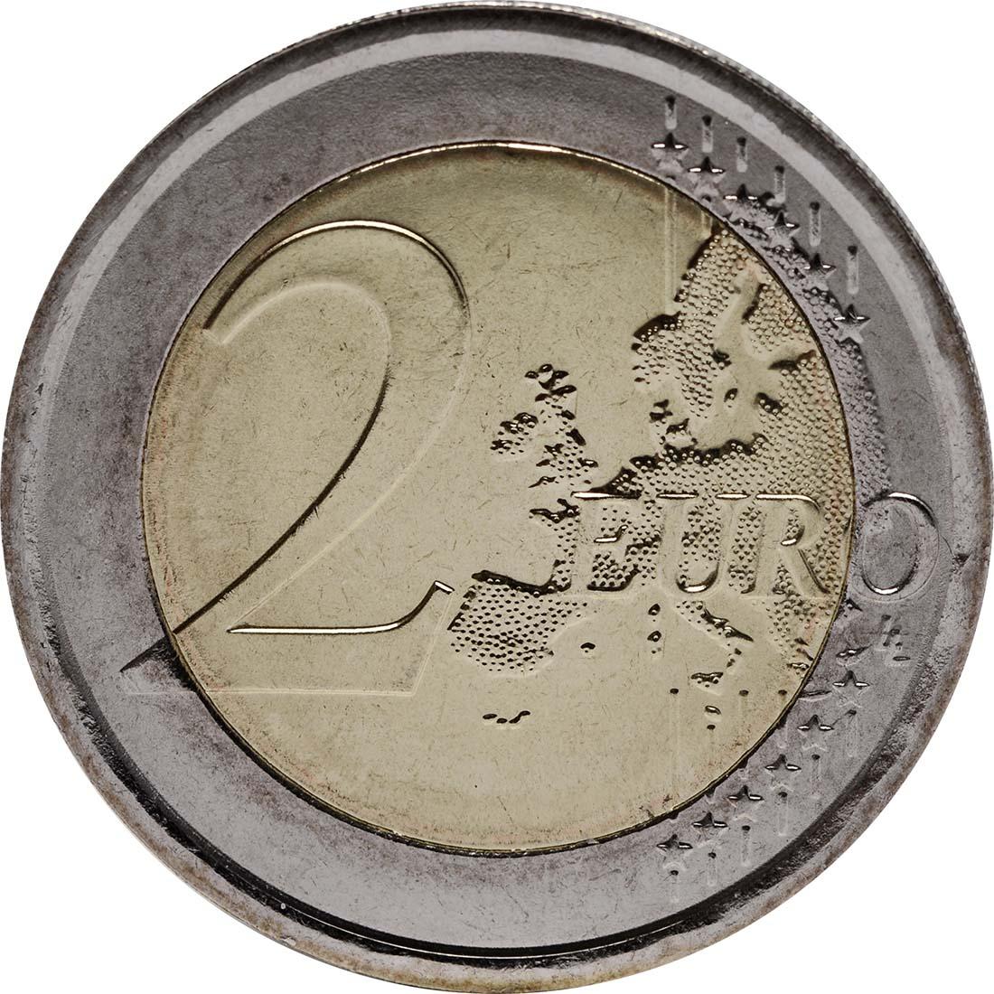 Vorderseite :Italien : 2 Euro 100. Todestag Giovanni Pascoli  2012 bfr