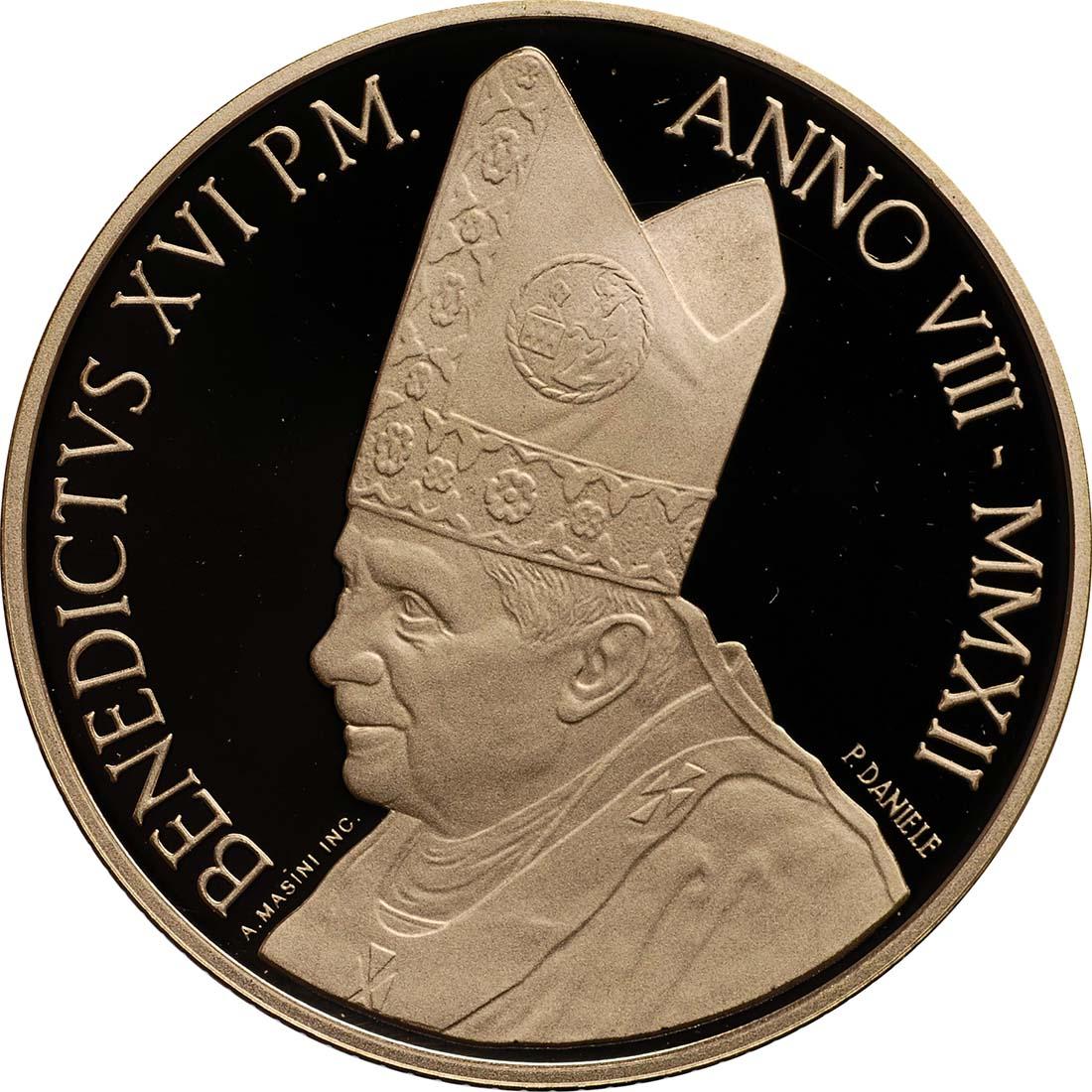 Vorderseite:Vatikan : 53,88 Euro KMS Vatikan 2012 inkl. 50 Euro Goldmünze  2012 PP