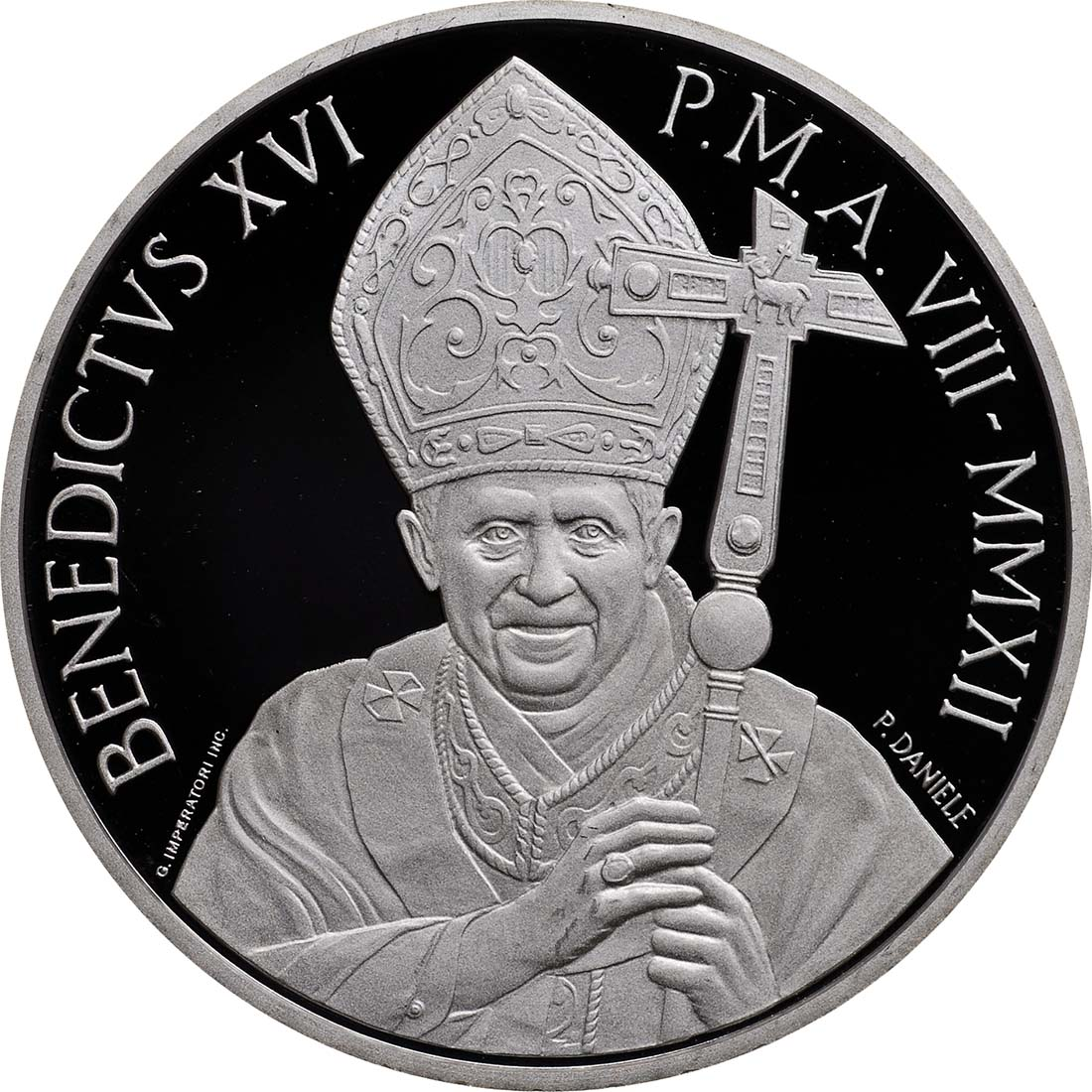 Vorderseite:Vatikan : 23,88 Euro KMS Vatikan + 20 Euro Gedenkmünze  2012 PP