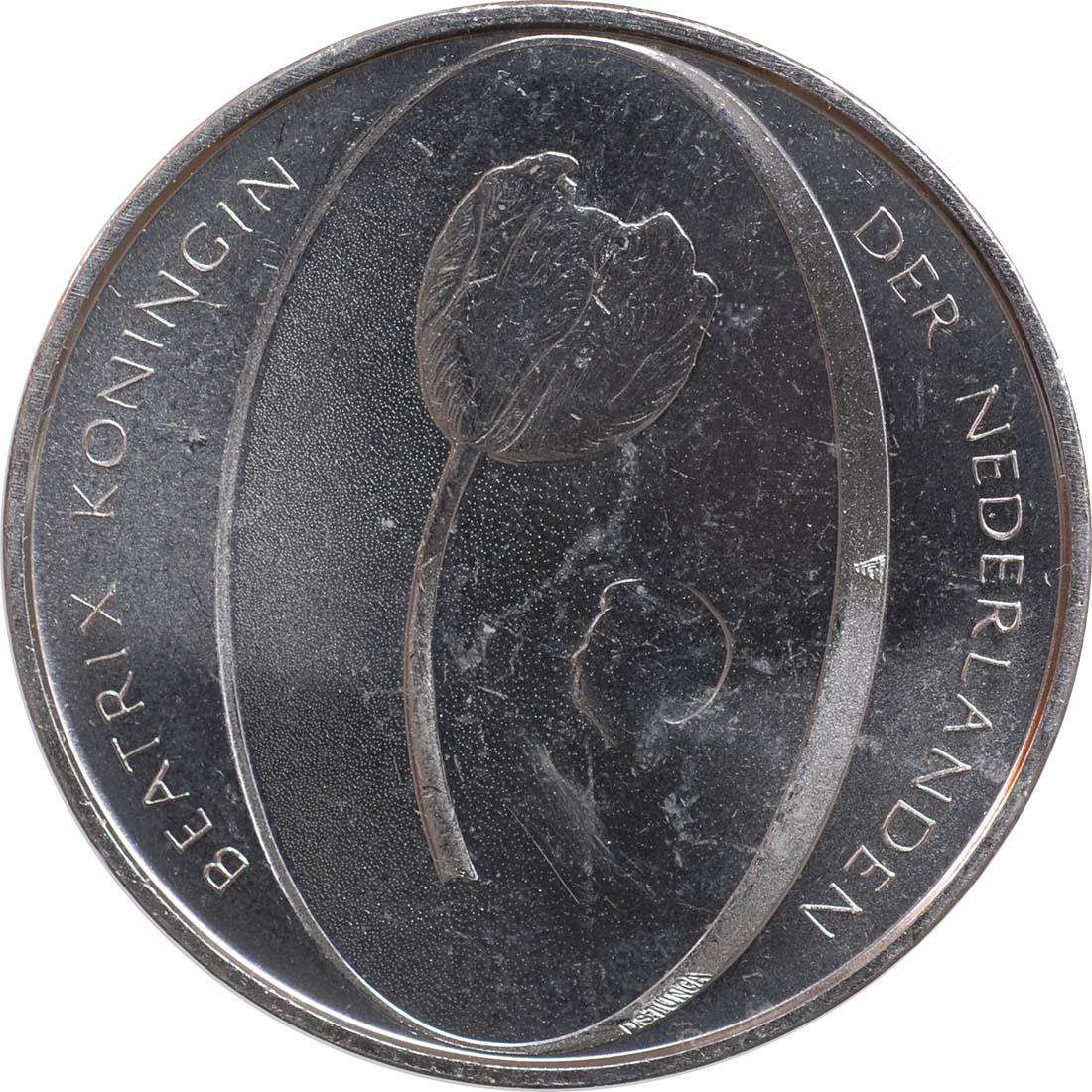 Vorderseite:Niederlande : 5 Euro Tulpe  2012 vz/Stgl.
