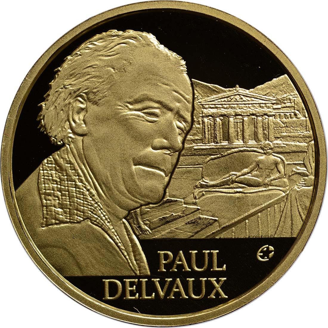 Vorderseite:Belgien : 50 Euro Paul Delvaux  2012 PP
