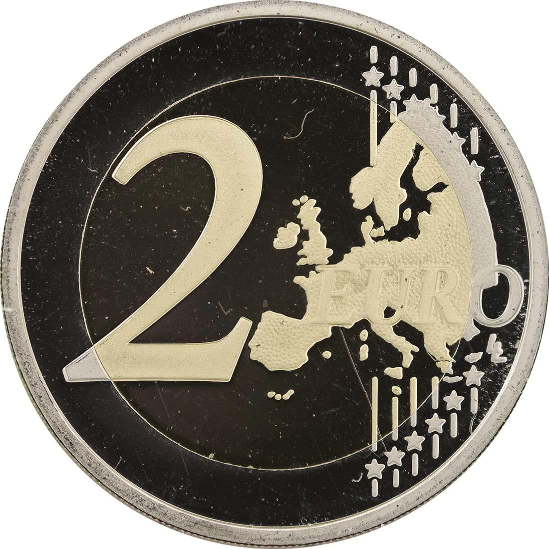 Bild der Vorderseite :Portugal - 2 Euro Europäische Kulturhauptstadt Guimaraes  2012 PP