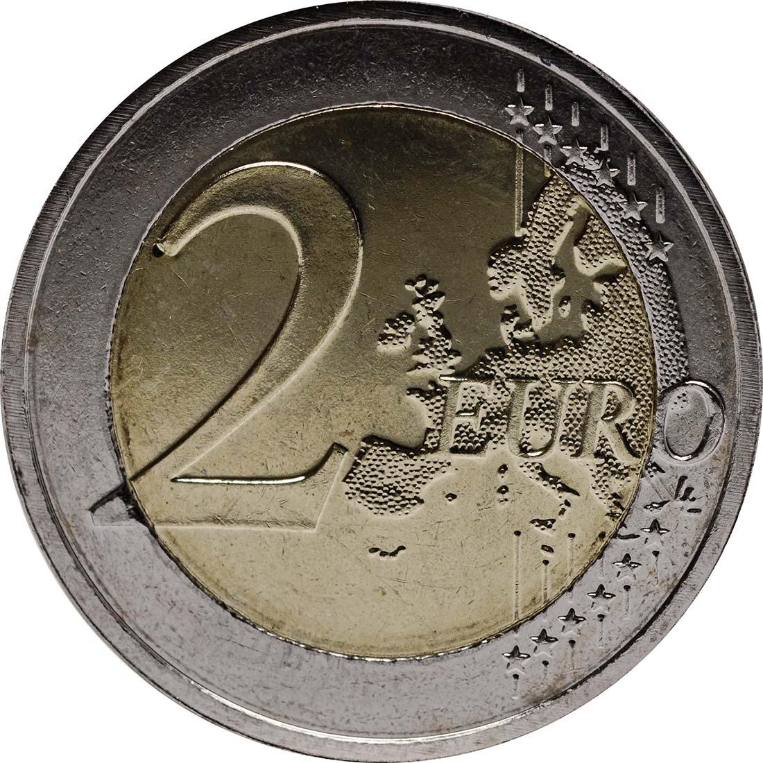Vorderseite :Malta : 2 Euro Mehrheitswahlrecht 1887  2012 bfr
