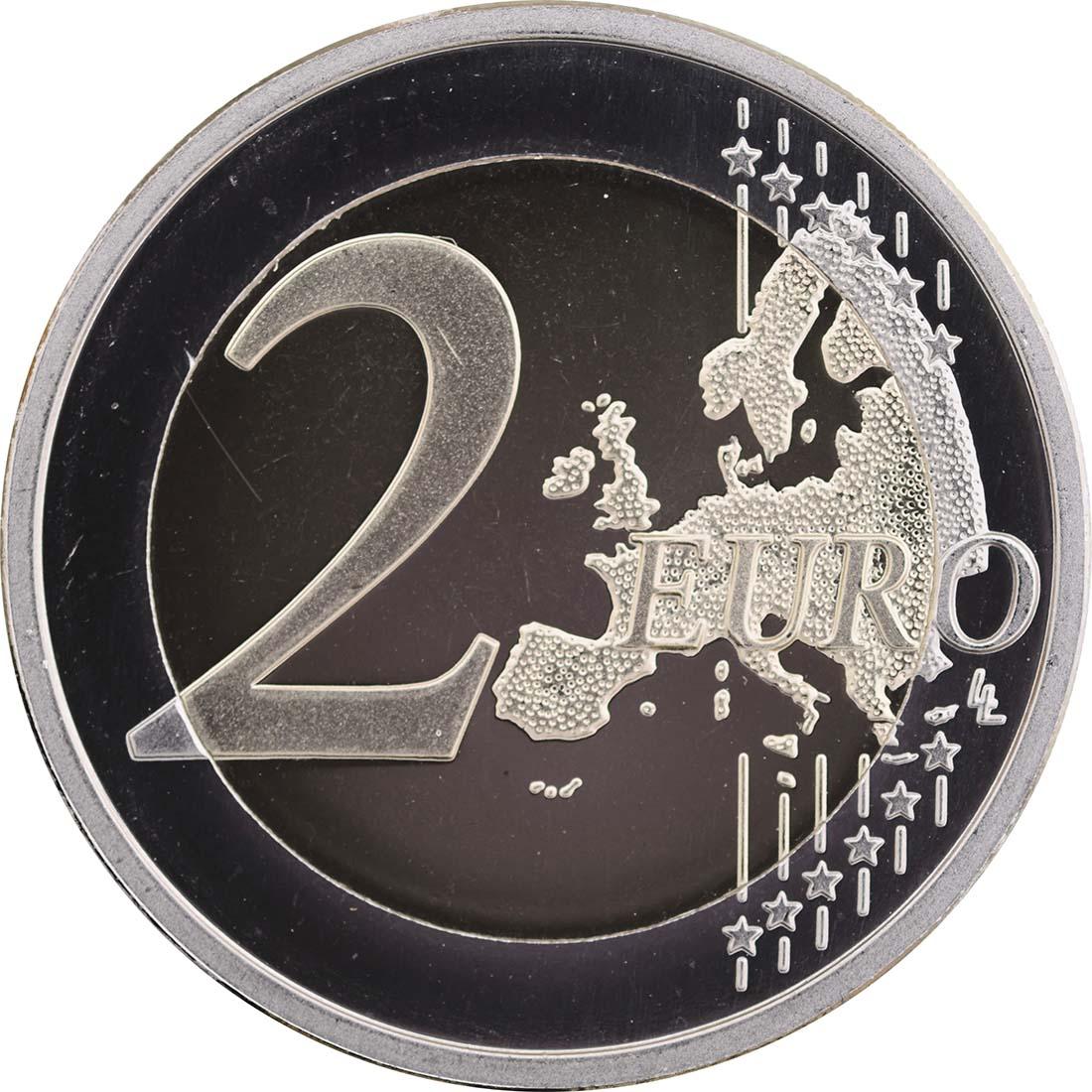 Bild der Vorderseite :Finnland - 2 Euro Helene Schjerfbeck  2012 PP