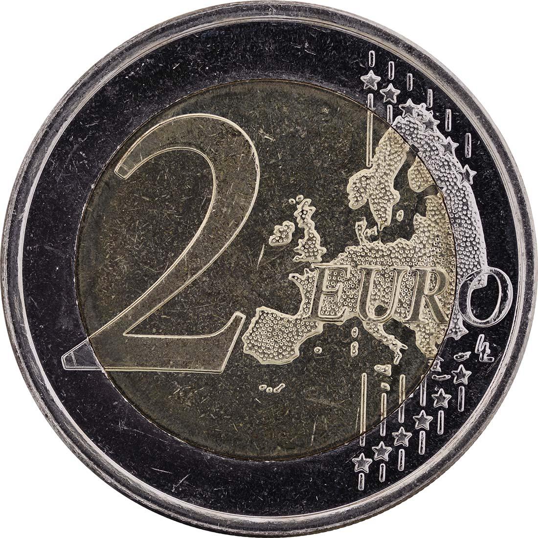 Vorderseite:Finnland : 2 Euro Helene Schjerfbeck  2012 bfr