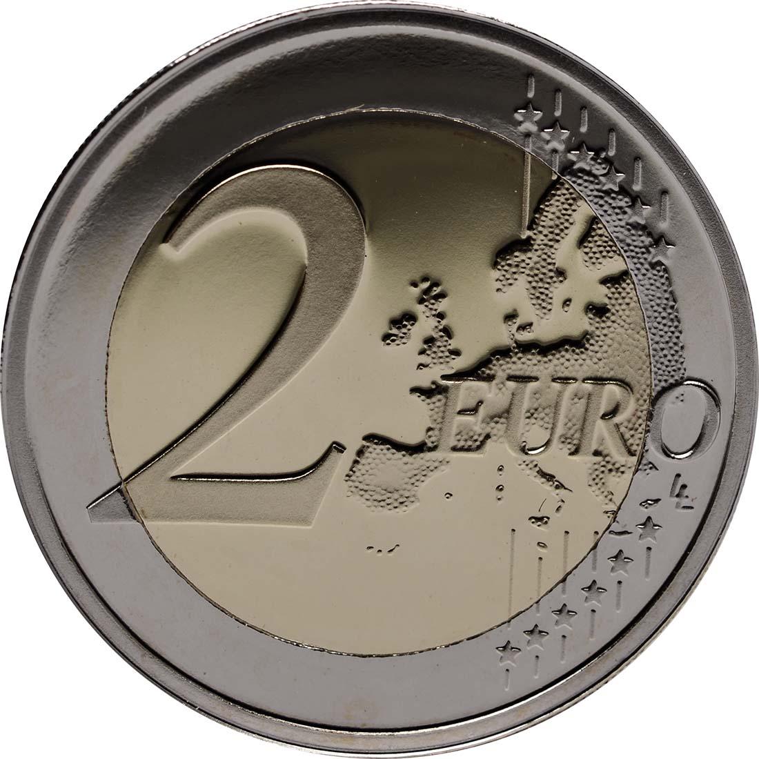 Vorderseite :Malta : 2 Euro Mehrheitswahlrecht 1887  2012 PP