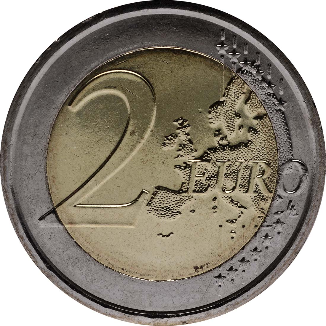 Vorderseite:Vatikan : 2 Euro 7. Weltfamilientreffen  2012 Stgl.
