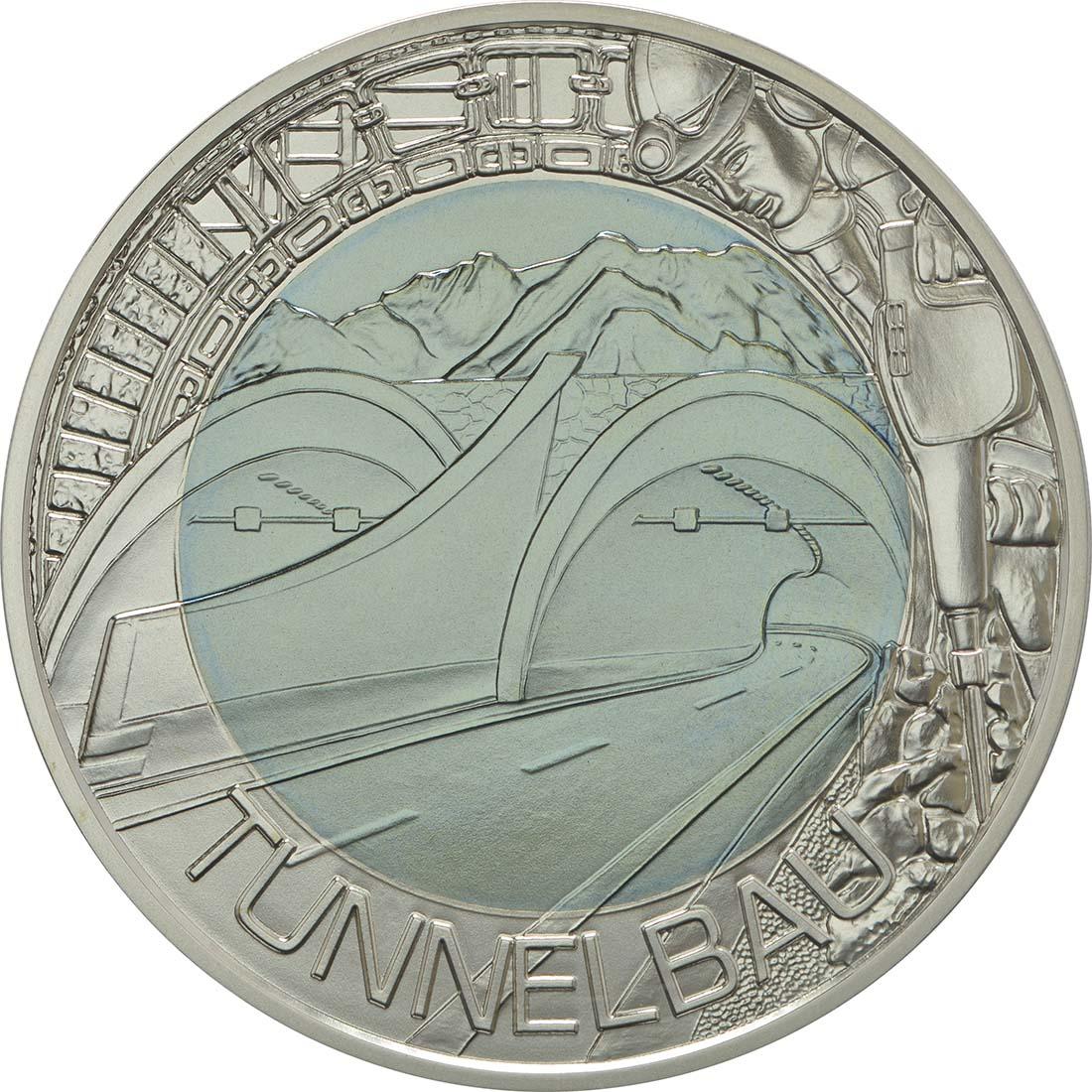 25 Euro Tunnelbau 2013