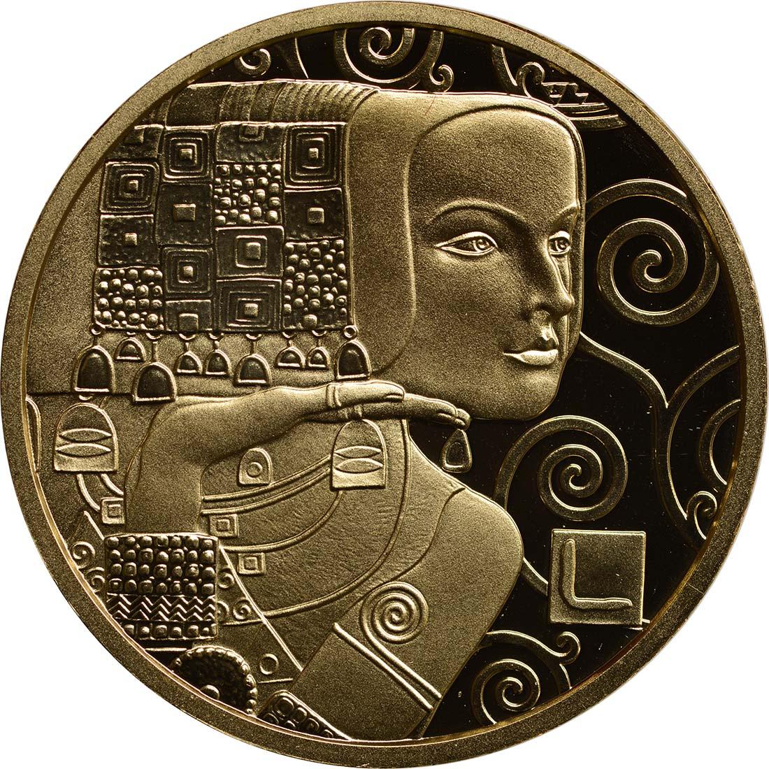 Vorderseite:Österreich : 50 Euro Klimt - Die Erwartung  2013 PP