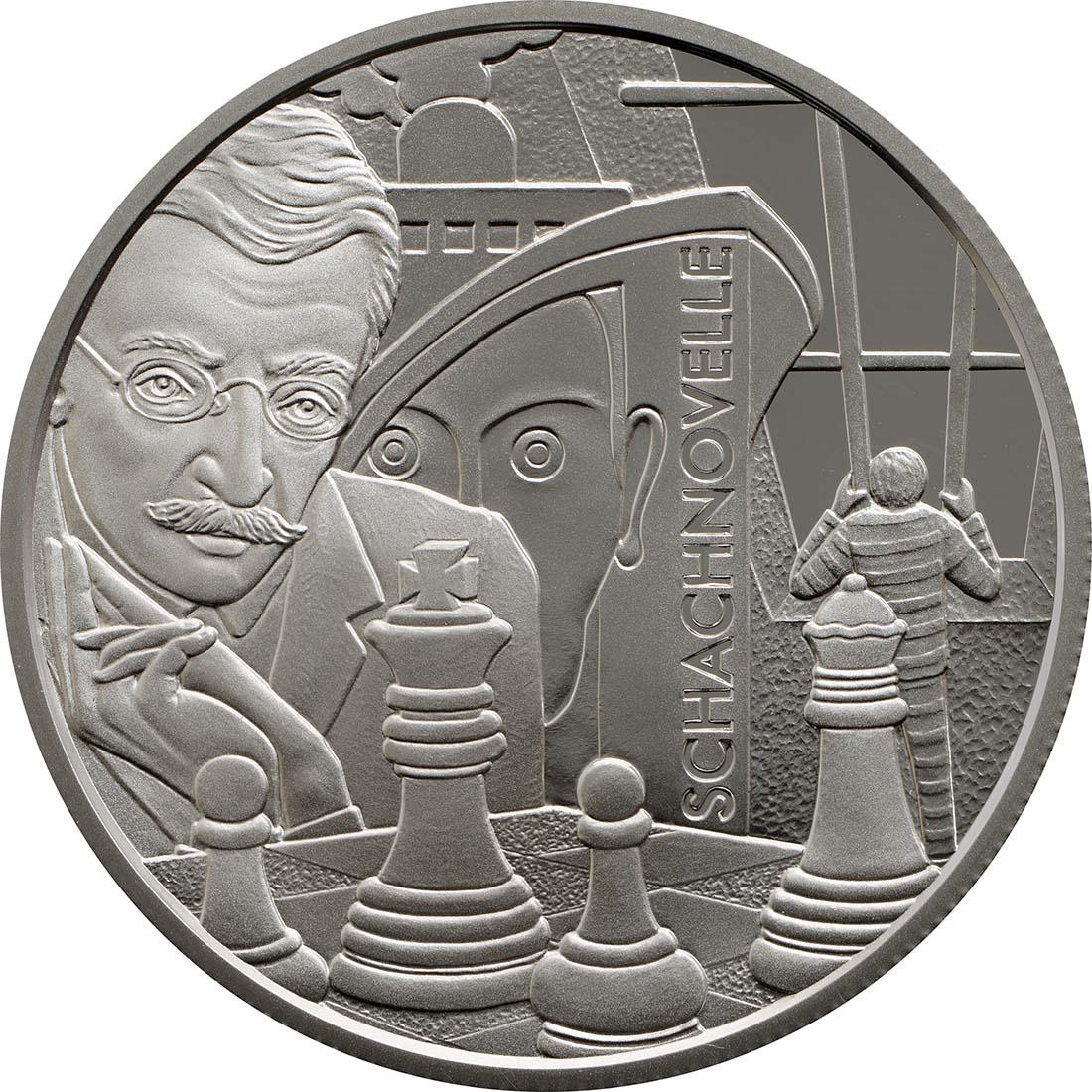 Rückseite:Österreich : 20 Euro Stefan Zweig  2013 PP