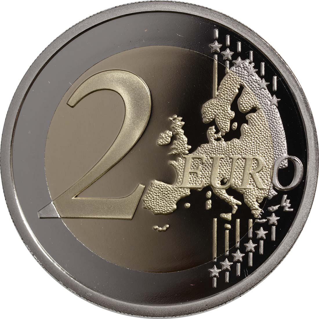 Vorderseite:Frankreich : 2 Euro 50 Jahre Elysée-Vertrag  2013 PP