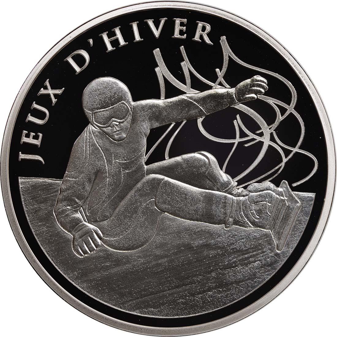 Vorderseite:Frankreich : 10 Euro Snowboard  2013 PP