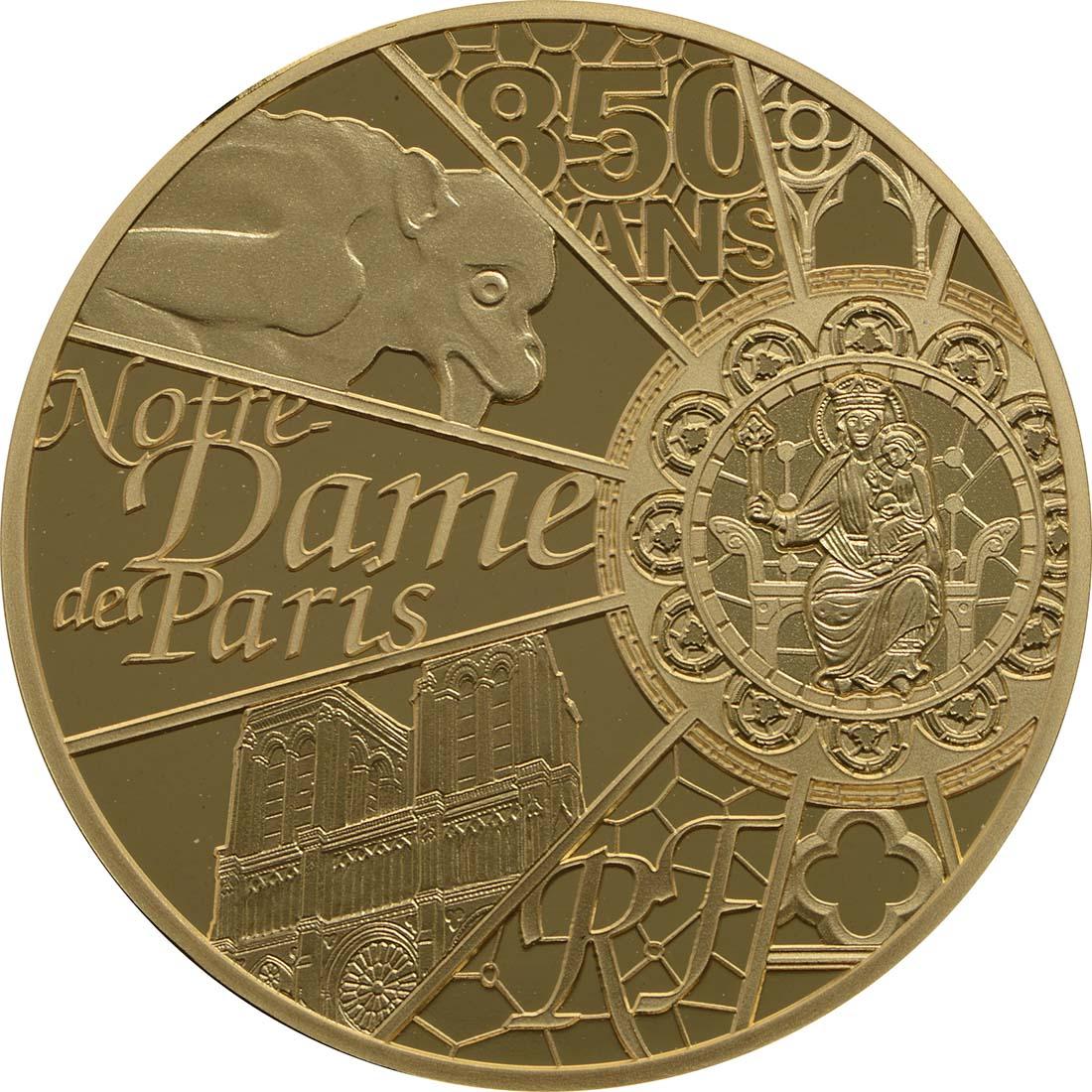 Vorderseite:Frankreich : 50 Euro Notre Dame  2013 PP