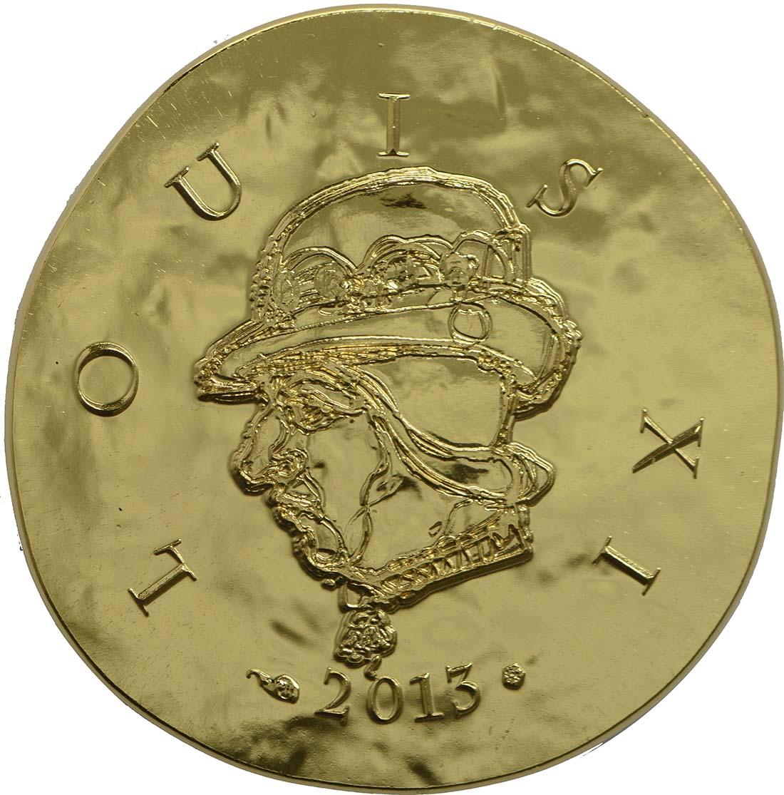 Vorderseite:Frankreich : 50 Euro Louis XI.  2013 vz/Stgl.