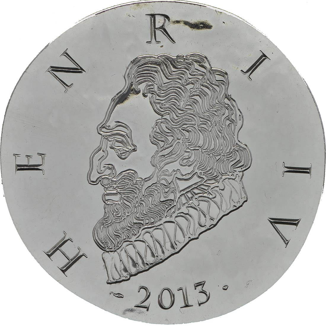 Rückseite:Frankreich : 10 Euro Henri IV.  2013 Stgl.