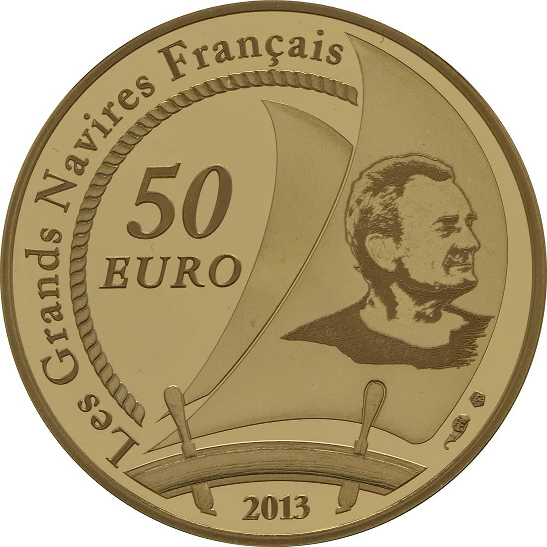 Rückseite:Frankreich : 50 Euro Pen Duick  2013 PP
