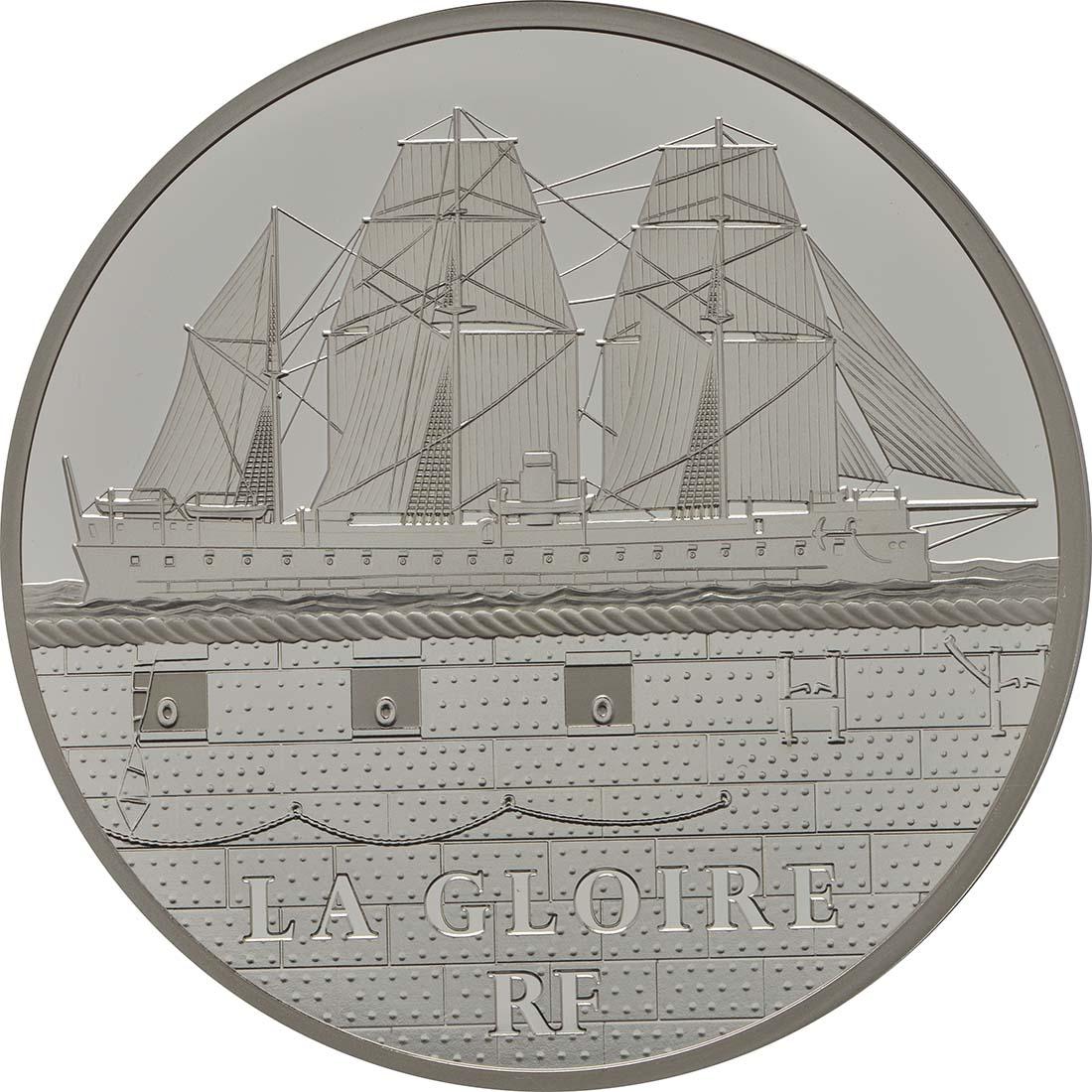 Vorderseite:Frankreich : 50 Euro La Gloire  2013 PP