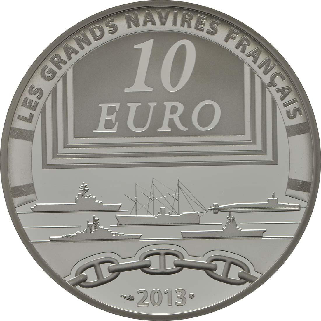 Rückseite:Frankreich : 10 Euro La Gloire  2013 PP