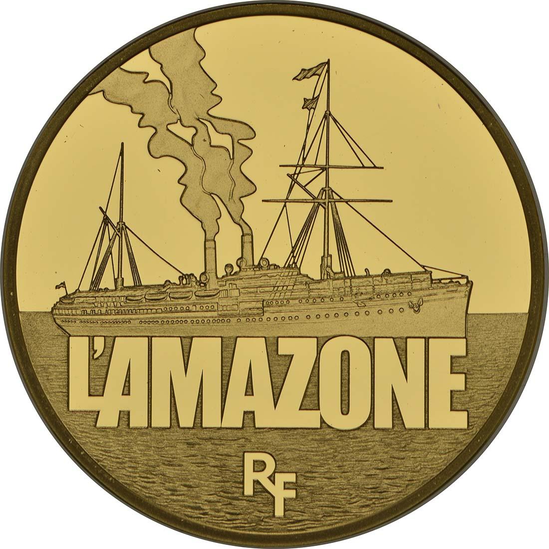Vorderseite:Frankreich : 50 Euro L'Amazone  2013 PP