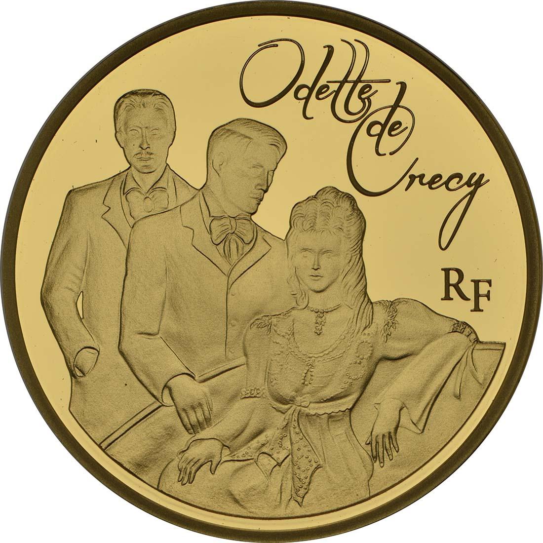 Vorderseite:Frankreich : 50 Euro Odette de Crécy  2013 PP