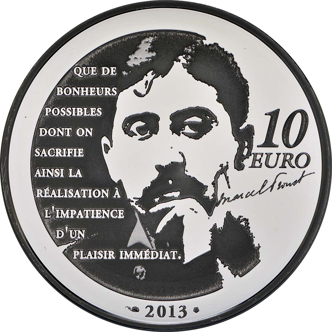 Rückseite:Frankreich : 10 Euro Odette de Crécy  2013 PP