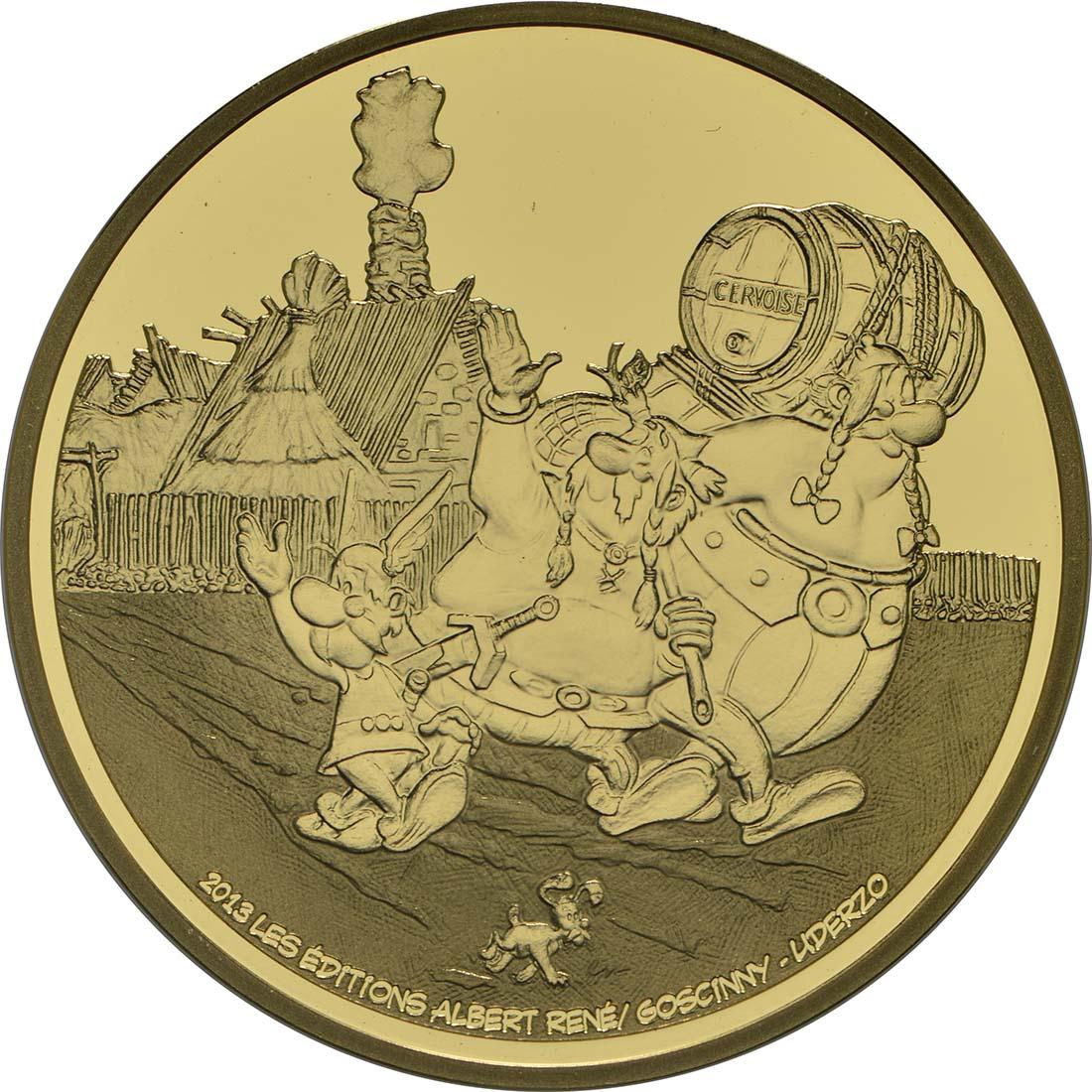 Vorderseite:Frankreich : 50 Euro Asterix  2013 PP