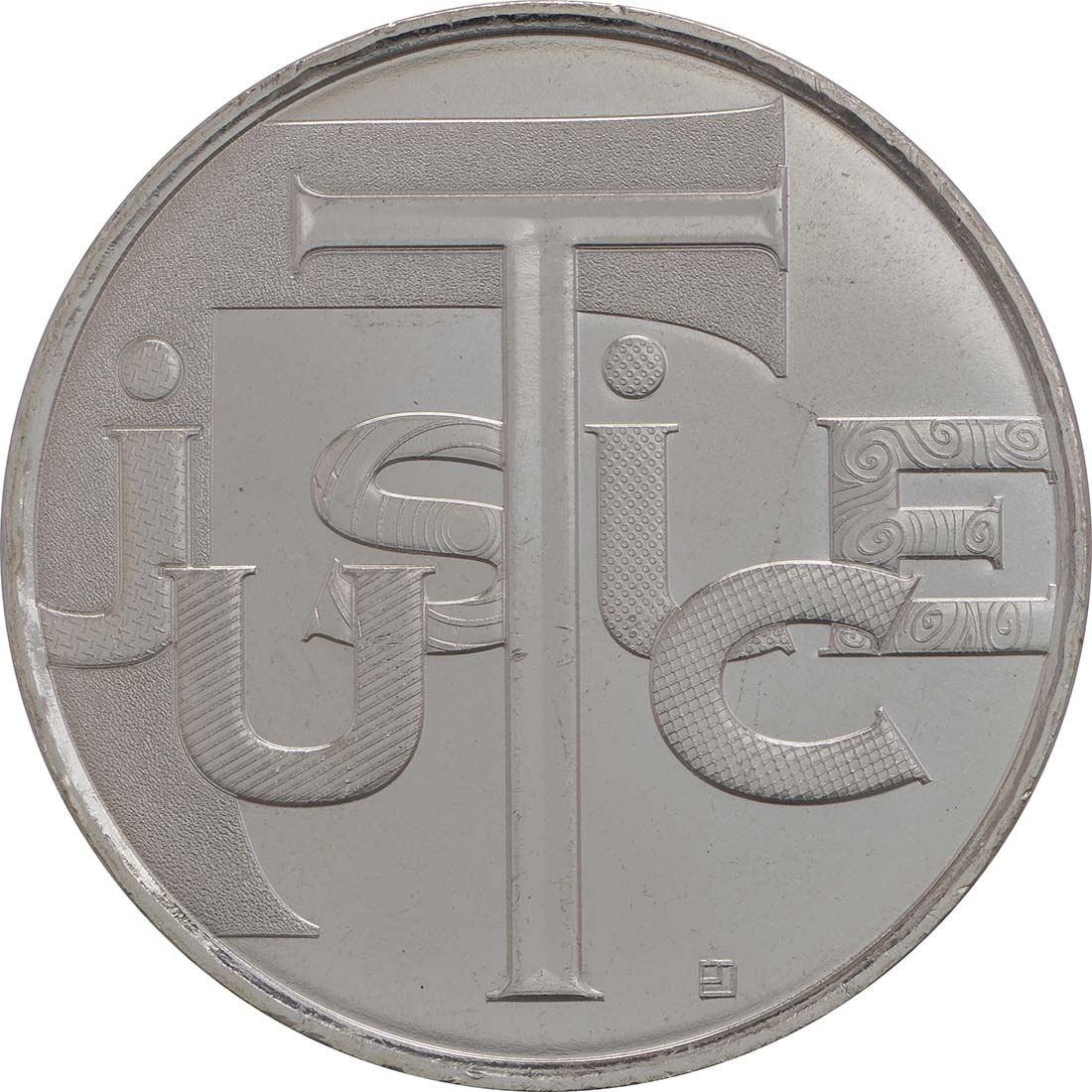 Vorderseite:Frankreich : 25 Euro Gerechtigkeit  2013 Stgl.