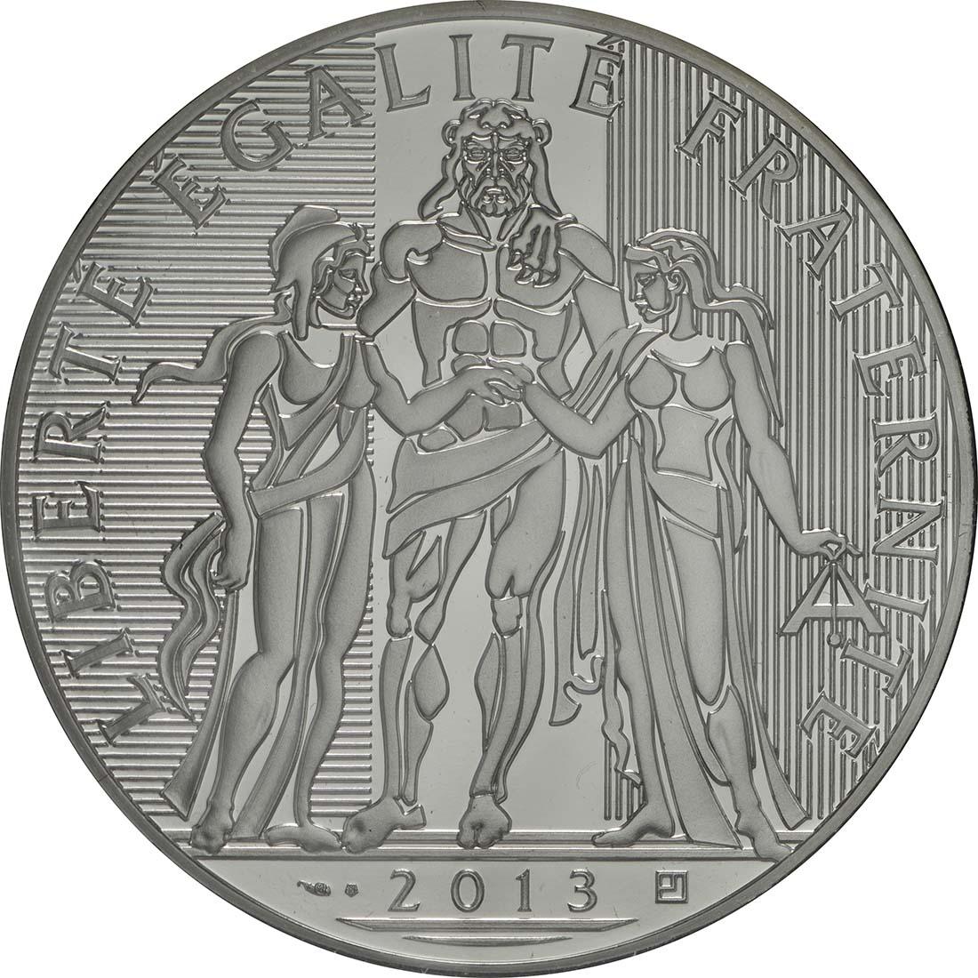 Rückseite:Frankreich : 100 Euro Hercules  2013 Stgl.