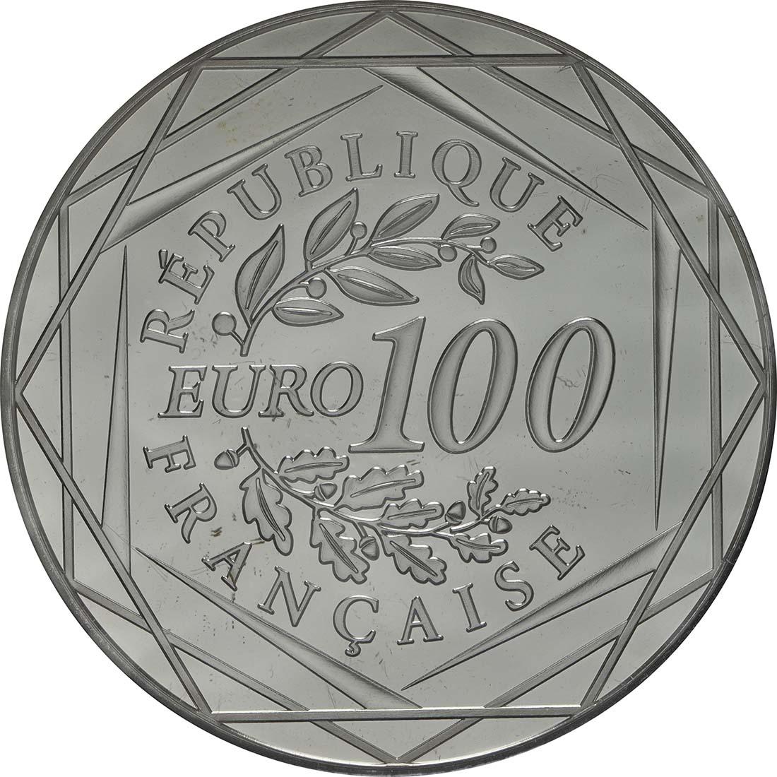 Vorderseite:Frankreich : 100 Euro Hercules  2013 Stgl.