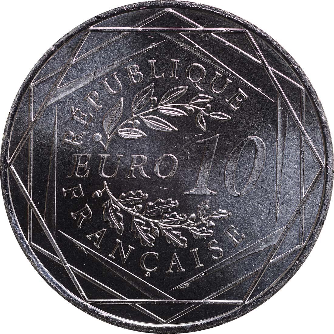 Rückseite:Frankreich : 10 Euro Hercules  2013 Stgl.