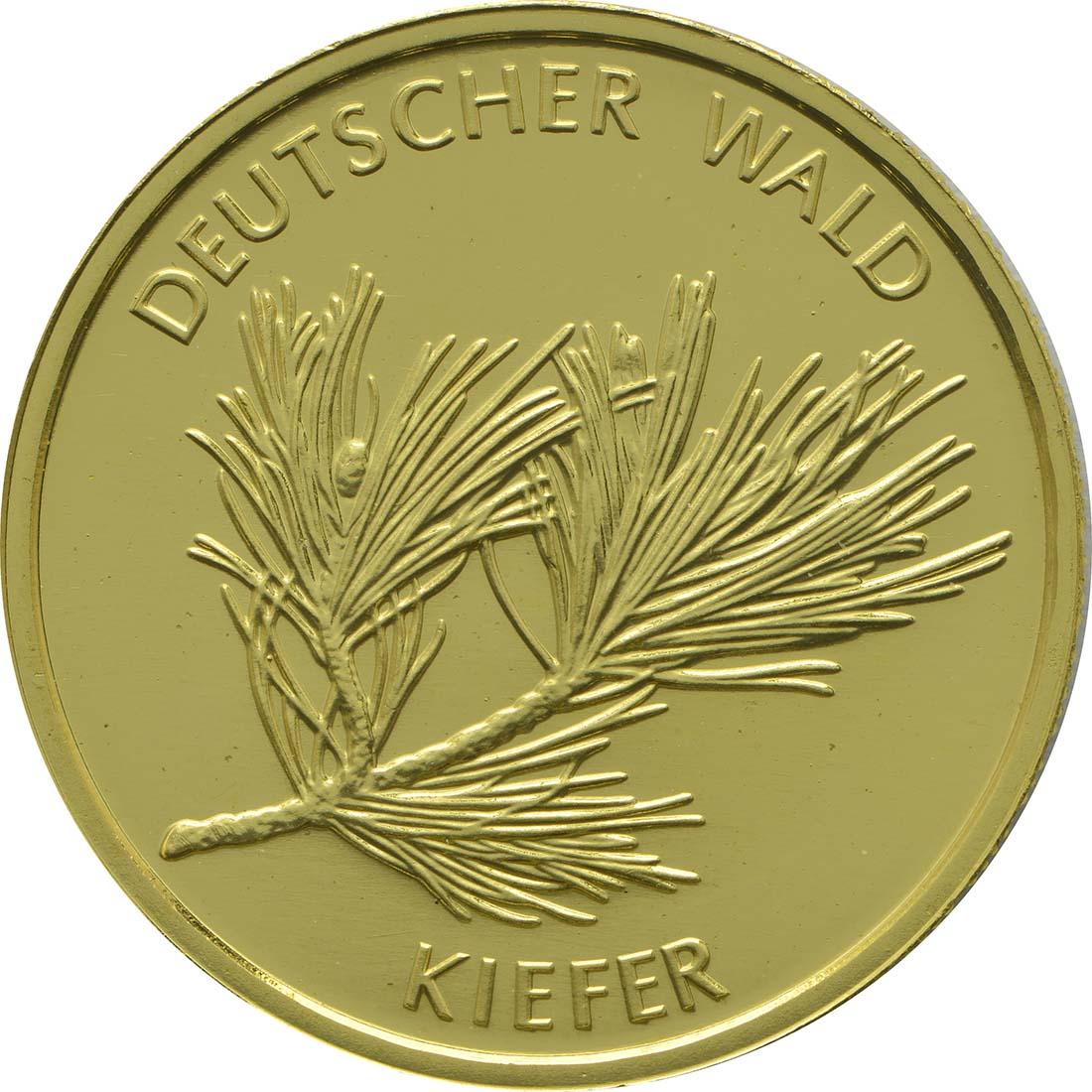 Vorderseite :Deutschland : 20 Euro Kiefer Buchstabe unserer Wahl  2013 Stgl.