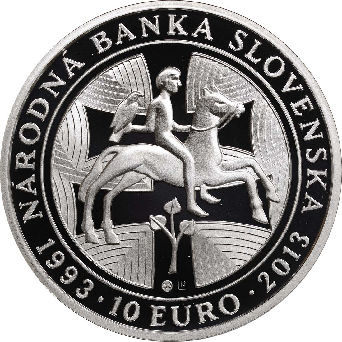 Rückseite:Slowakei : 10 Euro Nationalbank  2013 PP