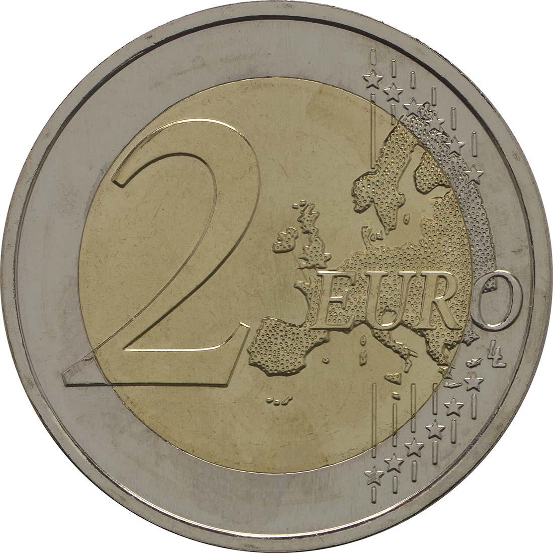 Vorderseite :Portugal : 2 Euro Torre dos Clérigos  2013 bfr
