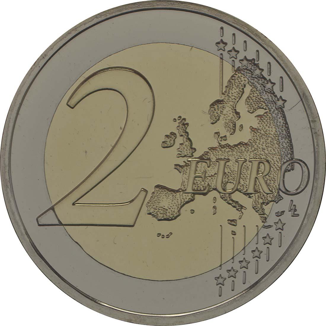 Vorderseite :Portugal : 2 Euro Torre dos Clérigos  2013 Stgl.