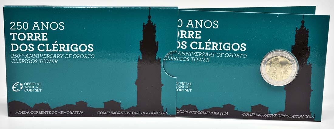 Lieferumfang :Portugal : 2 Euro Torre dos Clérigos  2013 PP