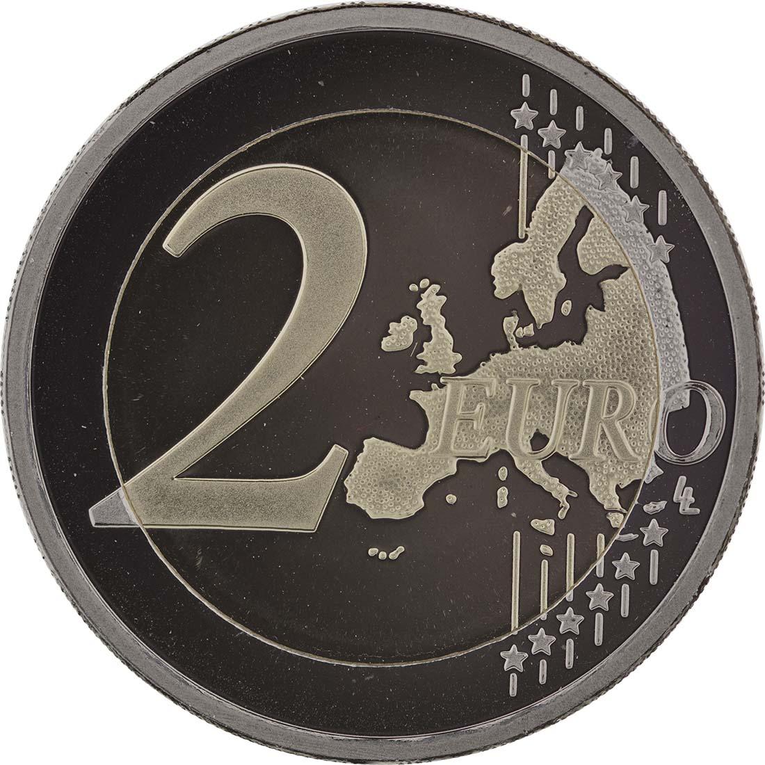Vorderseite :Niederlande : 2 Euro Thronwechsel - Doppelportrait Beatrix / Willem Alexander  2013 PP