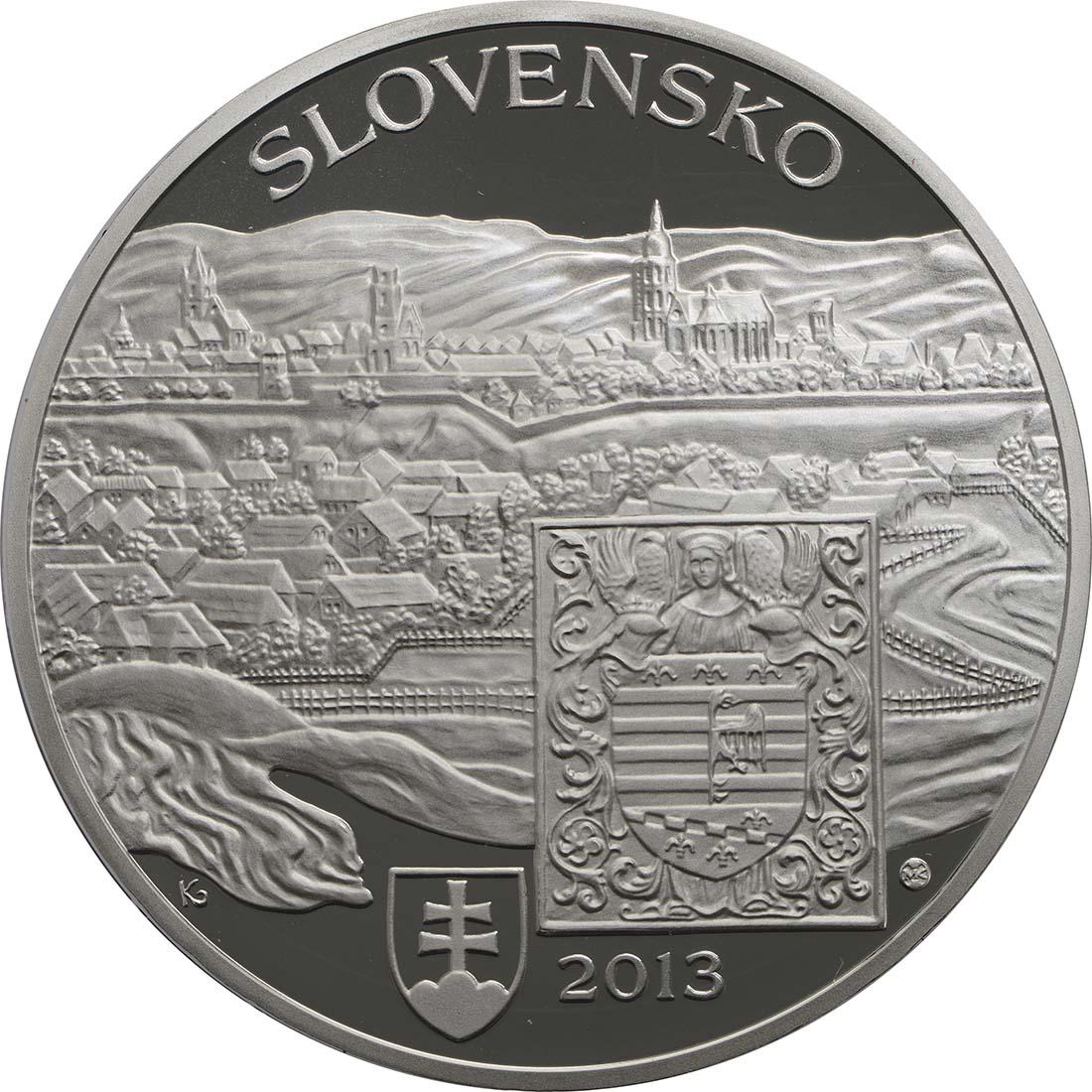 Vorderseite:Slowakei : 20 Euro Kosice  2013 PP