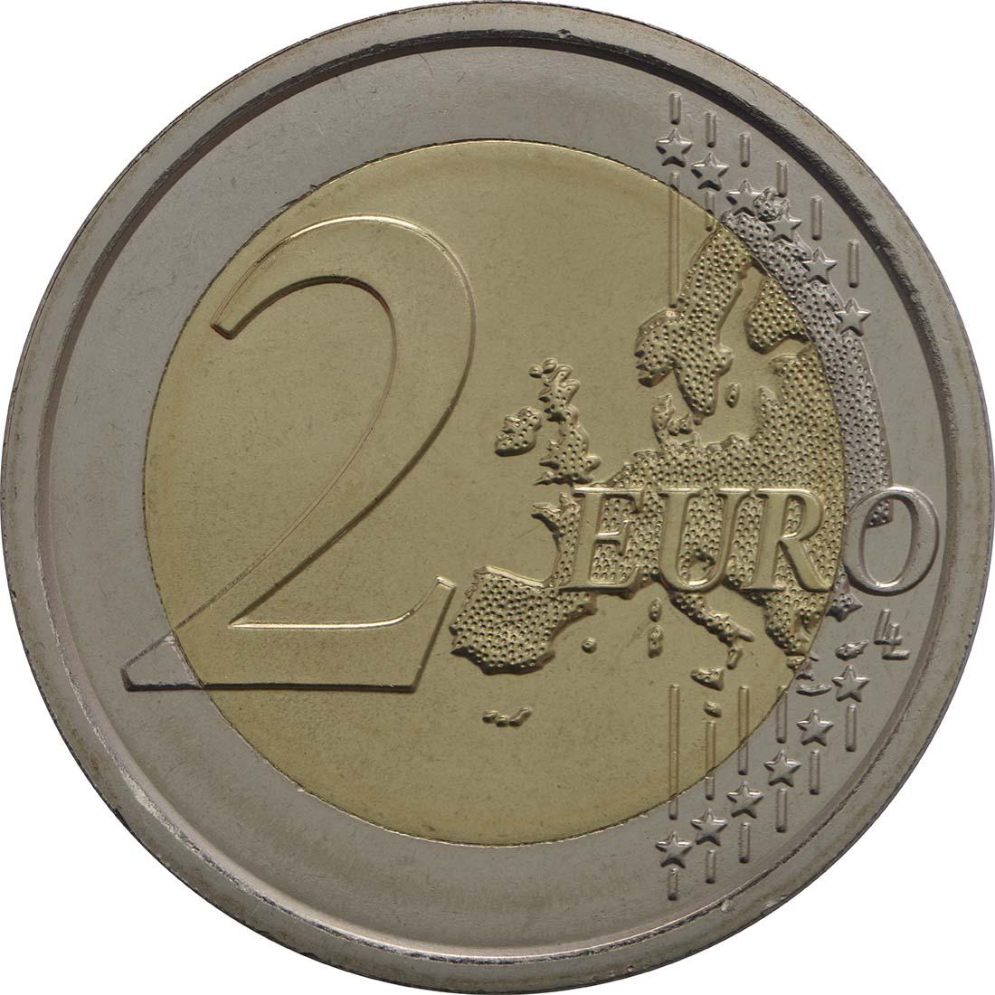Vorderseite :Vatikan : 2 Euro Sede Vacante  2013 Stgl.