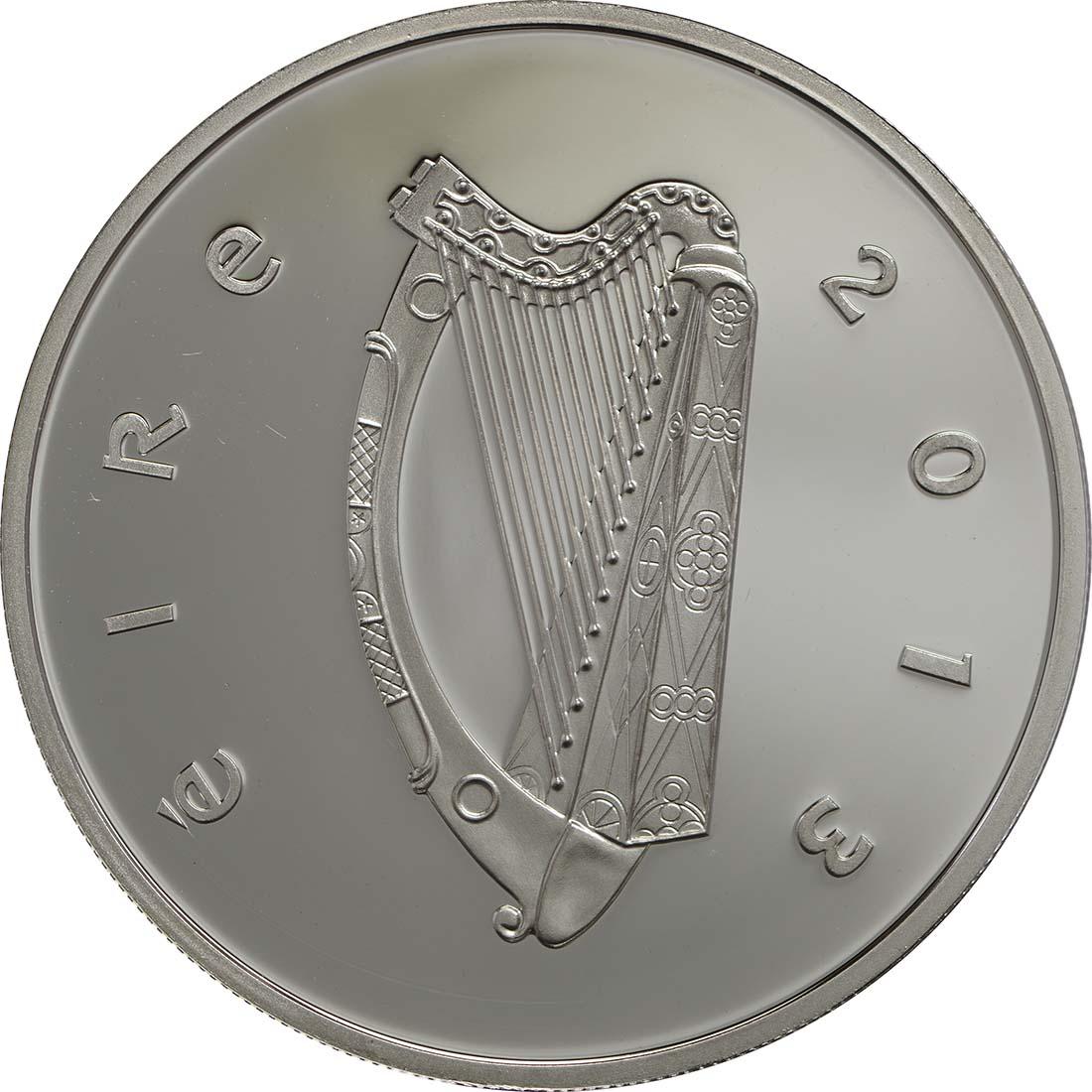 Rückseite:Irland : 10 Euro James Joyce  2013 PP