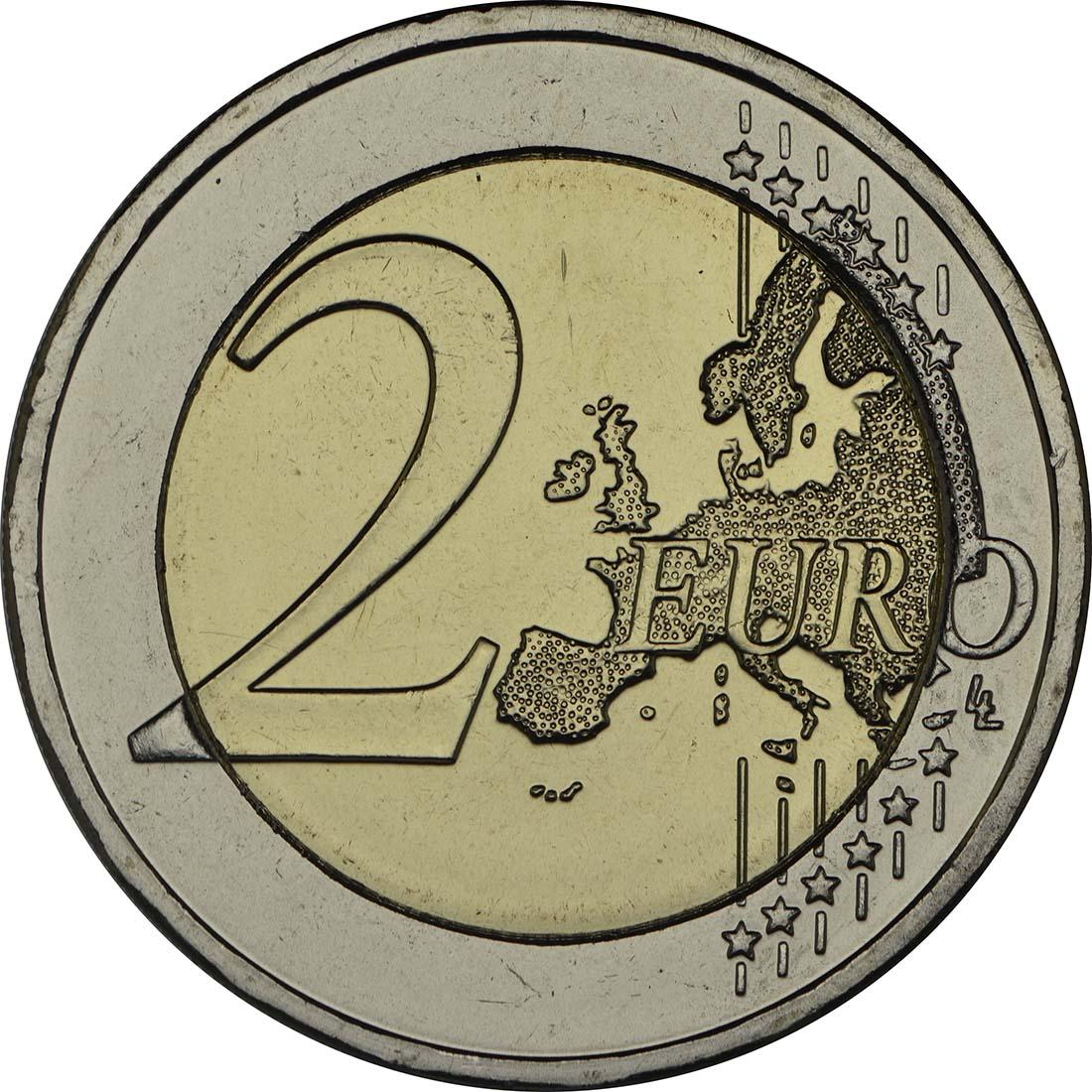 Vorderseite:Griechenland : 2 Euro Platon Akademie  2013 bfr