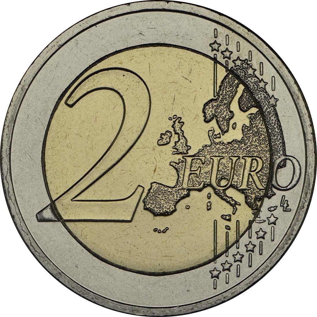Vorderseite :Griechenland : 2 Euro 100 Jahre Vereinigung Kreta mit Griechenland  2013 bfr