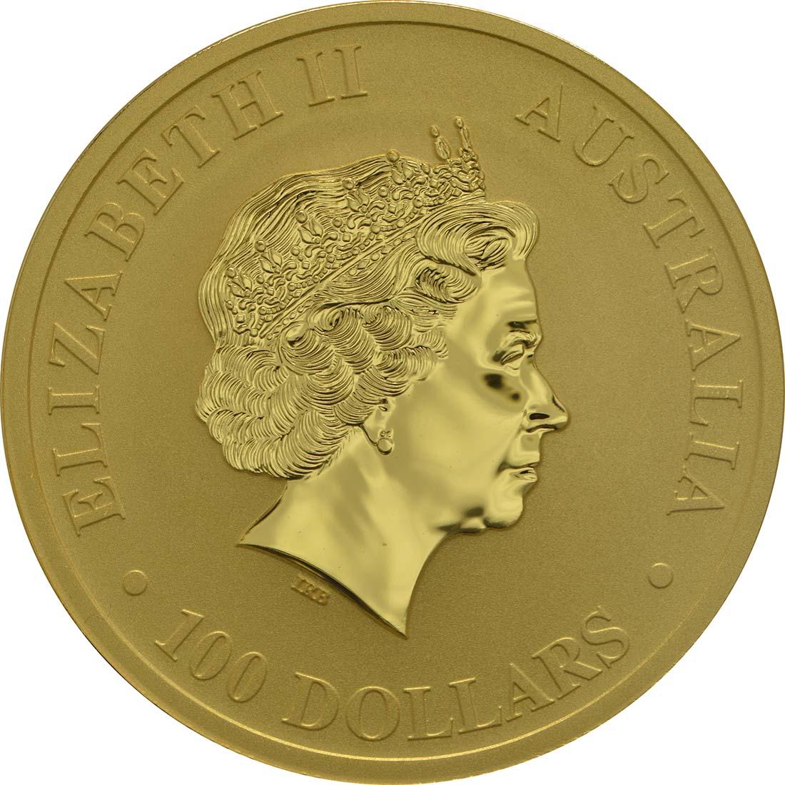 australien 100 dollar kaenguru nugget 1 unze feingold div gold stgl 1132 euro. Black Bedroom Furniture Sets. Home Design Ideas
