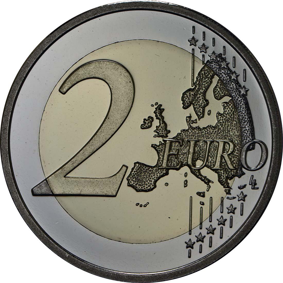 Vorderseite:Finnland : 2 Euro Parlament von 1863  2013 PP
