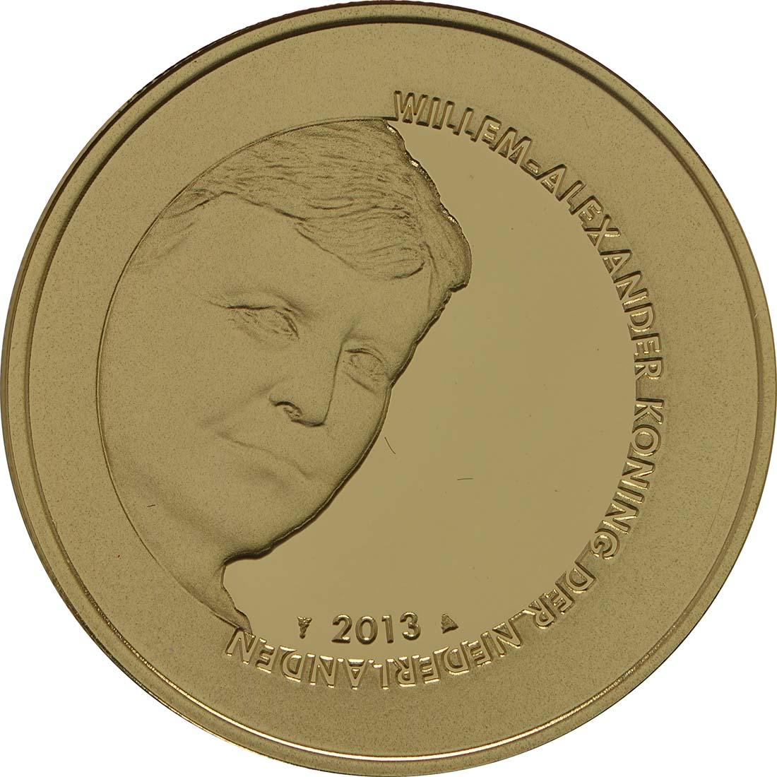 Vorderseite:Niederlande : 10 Euro 100 Jahre Friedenspalast  2013 PP
