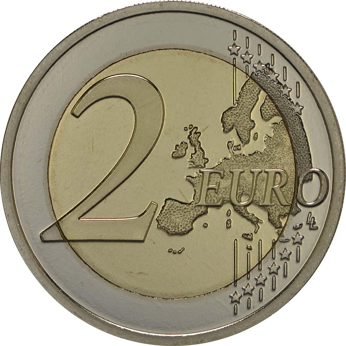 Vorderseite:Belgien : 2 Euro Meteorologisches Institut  2013 PP