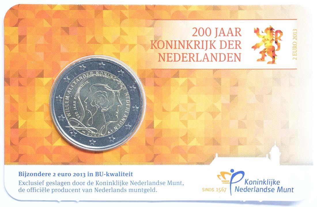 Lieferumfang :Niederlande : 2 Euro Königreich  2013 Stgl.