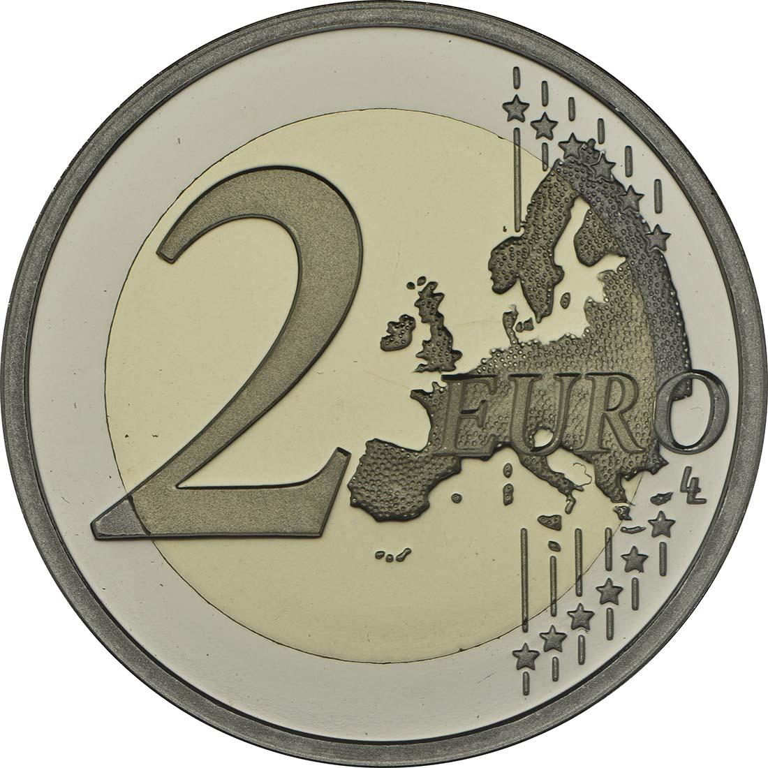 Vorderseite :Niederlande : 2 Euro Königreich  2013 PP