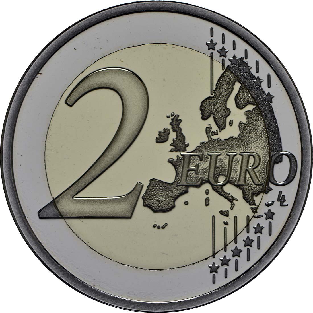 Vorderseite :Malta : 2 Euro Selbstverwaltung  2013 PP