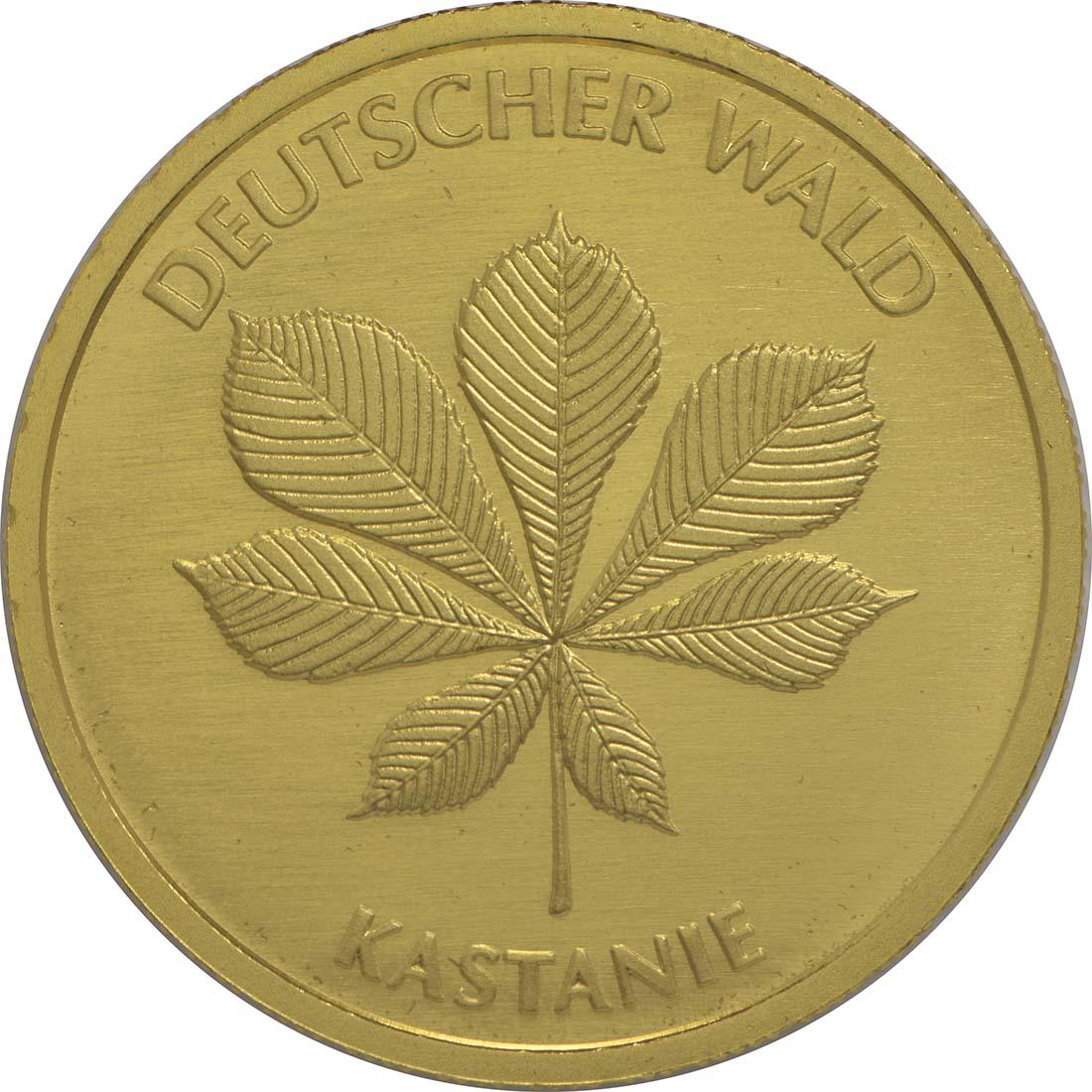 Vorderseite:Deutschland : 20 Euro Kastanie Komplettsatz ADFGJ  2014 Stgl.
